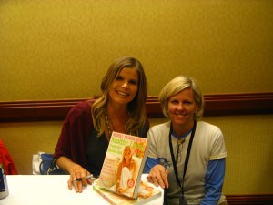 Mariel Hemingway and Ann Whitman, a co-founder of Back2Tap